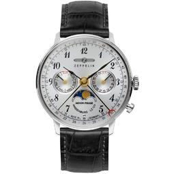 Ceas Zeppelin LZ 129 Hindenburg Moonphase