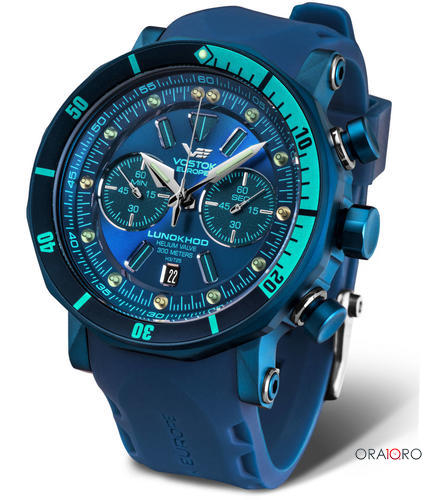 Ceas Vostok - Europe Lunokhod 2 Tritium Grand Chrono