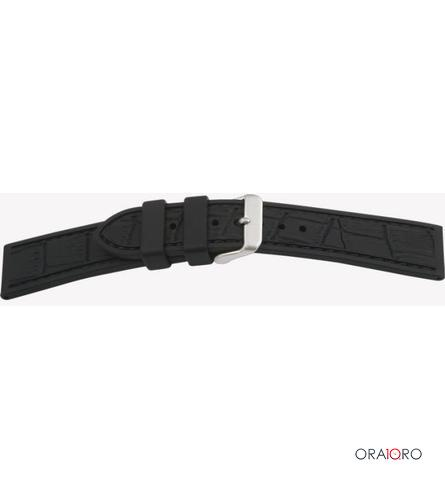 Curea Bear Uhrband Silicon Croco Optik