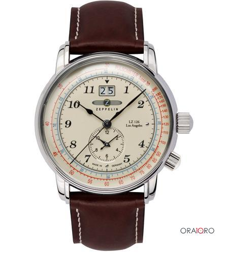 Ceas Zeppelin LZ 126 Los Angeles Dual Time